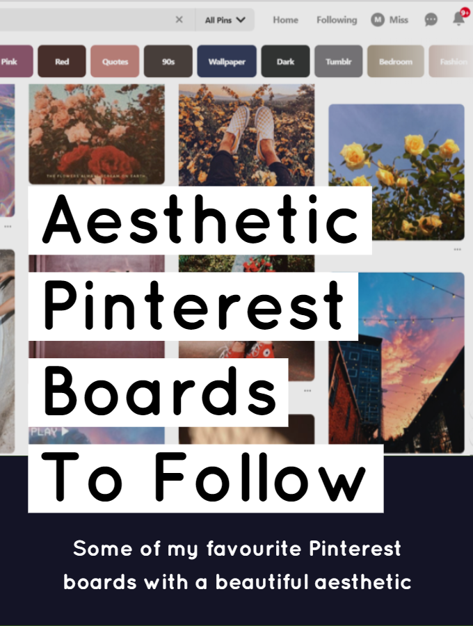 Aesthetic Pinterest Boards To Follow Digital And Discursive